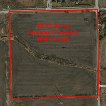 40 acres Industrial Site Joliet